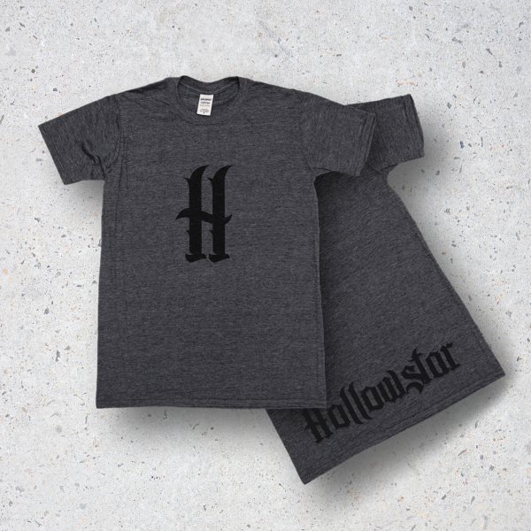 Album T-Shirt in Charcoal
