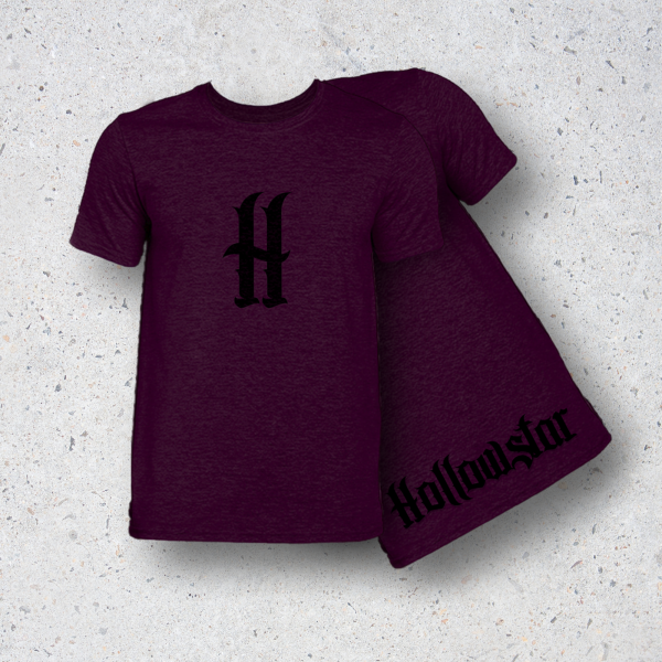 Album T-Shirt in Maroon